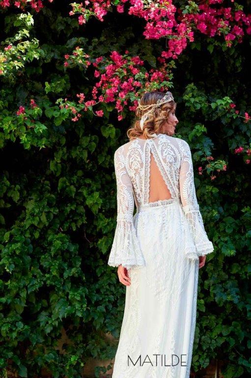 vestido novia espalda abierta